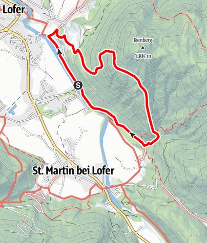 Karte / Iwonsky Hütte und Strohwollner Schlucht