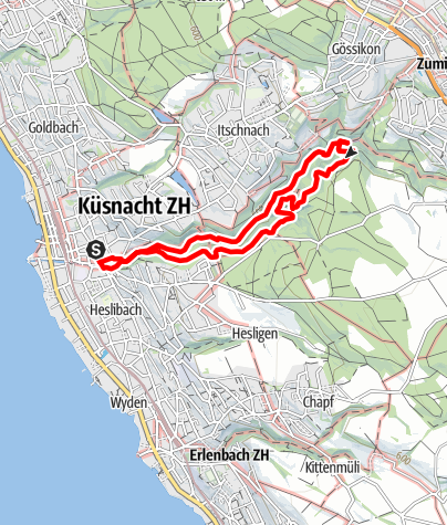 Map / Küsnachter Tobel