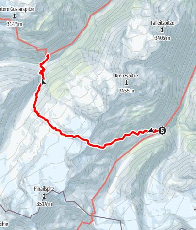 Karte / Tag 2: Saykogel