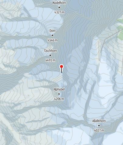 Karte / Mischabel Biwak