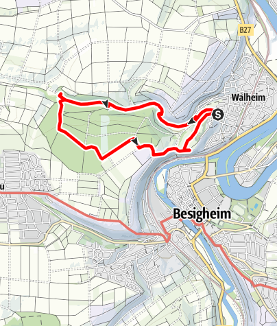 Karte / Das Krokodil vom Walheimer Wald