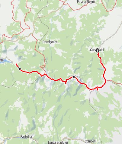 Karte / Tourenplanung am 14. Juli 2019