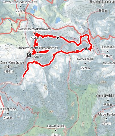 Mappa / Via ferrata