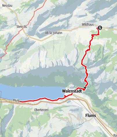 Karte / Etappe 2b - Transalp Zentralalpen