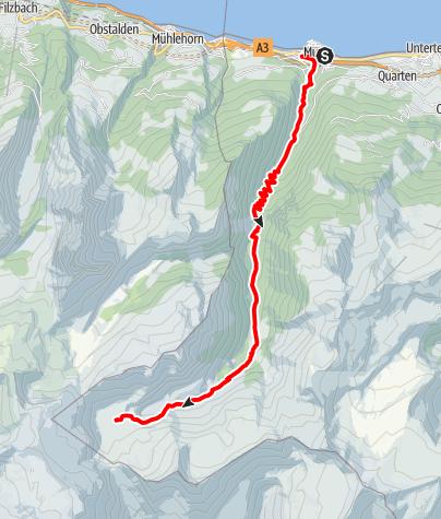 Karte / Etappe 3 - Transalp Zentralalpen