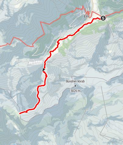 Karte / Etappe 5 - Transalp Zentralalpen
