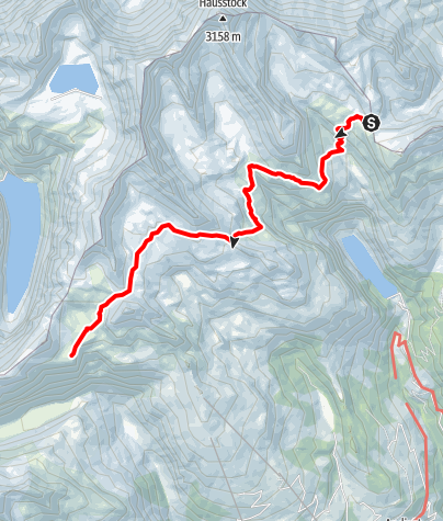 Karte / Etappe 6 - Transalp Zentralalpen