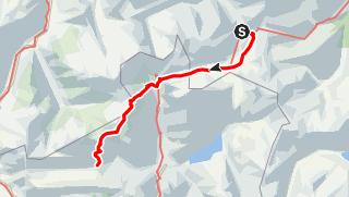 Karte / Etappe 9 - Transalp Zentralalpen