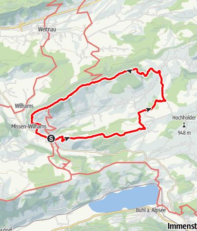 Karte / 2019-05-19 / Wandern / Missen - Hauchenberg