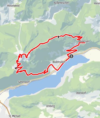 Karte / Gerlitzen MTB