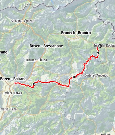 Karte / Einradtour 2019 Gesamt