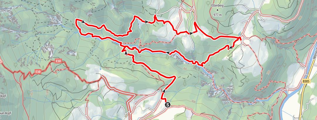 Karte / Tourenplanung am 31.07.2019 18:46:19