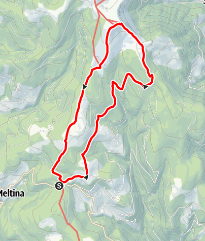 Karte / Stoanerne Mandln Rundtour