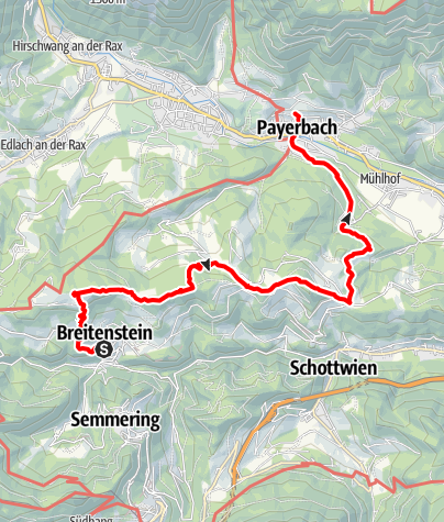 Karte / Breitenstein-LOOS haus-PAYERbach G