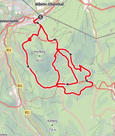 Karte / Bayrisch Eisenstein - Schwellhäusl