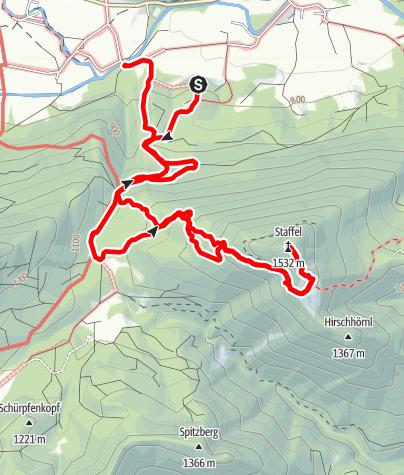 Map / Staffel, Jachenau :Aufzeichnung am 04.09.2019 09:10:39