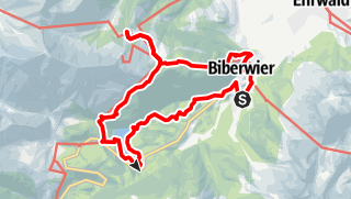 Karte / Loisachquelle bei Biberwier