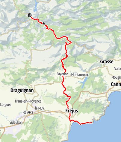 Karte / Etappe 6 Velowoche