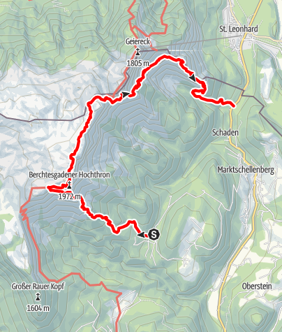 Karte / Untersbergrunde
