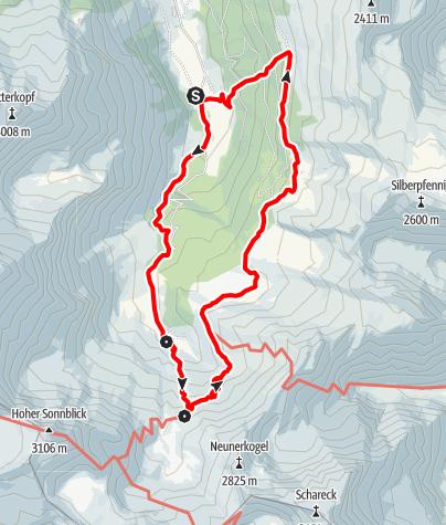 Karte / Familientour: Das Raurisertal - Nationalpark Hohe Tauern