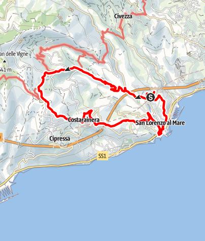 Karte / Wanderung am 10. Oktober 2019 um 10:04
