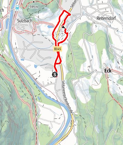 Karte / Rundweg Artweger - Sulbachfelderstr. - Hofer
