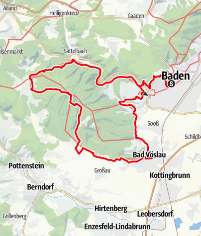 Karte / Beethoven RUNDWANDERWEG Original