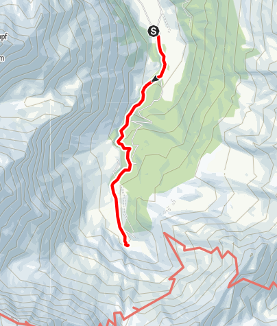 Karte / Familientour: Das Raurisertal - Nationalpark Hohe Tauern - 1. Etappe: Mautstelle Bodenhaus (1230 m) - Naturfreundehaus Kolm Saigurn (1598 m)
