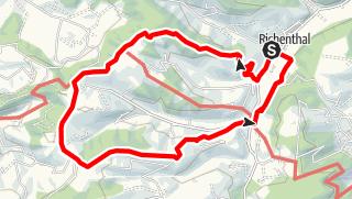 Map / PW Richenthal LU, 10 km Strecke neu