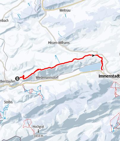 Karte / Salmaser- / Thaler Höhe - Alpsee