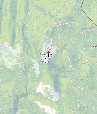 Karte / Arber Schutzhaus und Eisensteiner Hütt'n