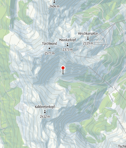 Karte / Rockfeldalm