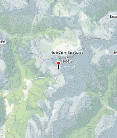 Map / Rifugio Auronzo
