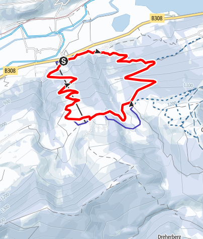 Karte / Dein Freiraum.Mein Lebensraum - Familientour zur Bärenfalle