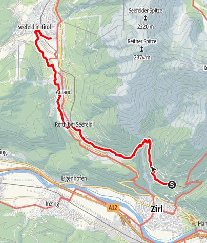 Karte / Schlossbachklamm