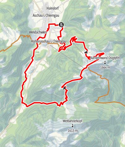 Karte / KAMPENWAND