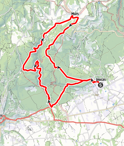 Karte / Gorge de la Véroncle (Luberon)