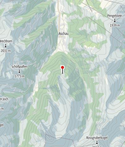 Karte / Hirzeggalm