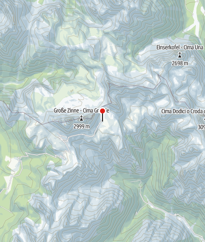 Map / Rifugio Lavaredo