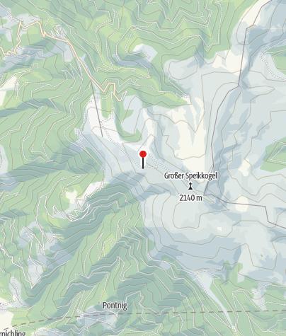 Karte / ÖAV Koralpenschutzhaus