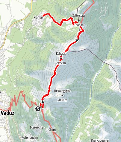 Karte / T_53 Fürstensteig