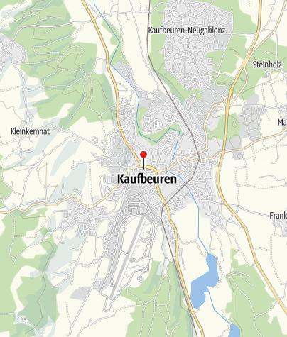 Karte / Radrunde Allgäu – Klassik Tour inkl. Gepäcktransfer