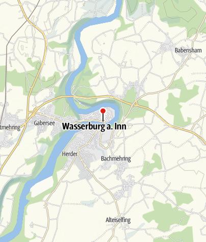 Karte / Benedikt-Radweg