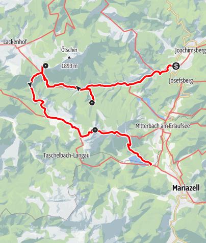 Karte / Familientour: Der Ötscher