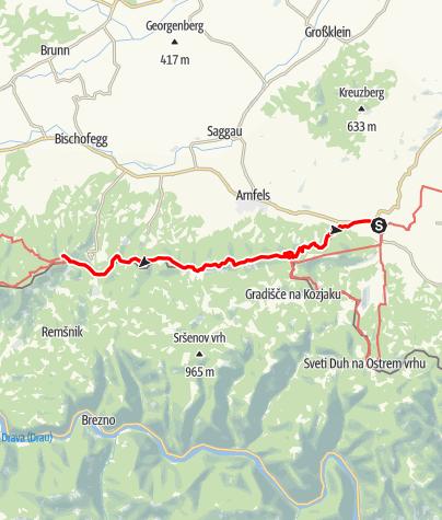 Map / 03 Südalpenweg, E04: Leutschach - Pongratzen