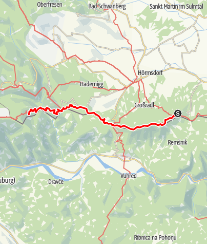 Map / 03 Südalpenweg, E05: Pongratzen - Laaken