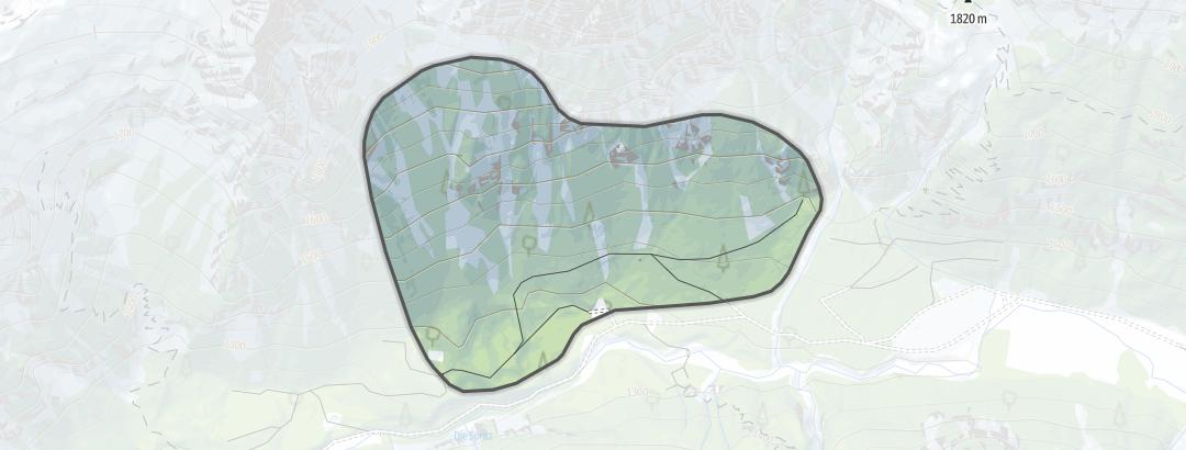 Karte / Angeralm Nord