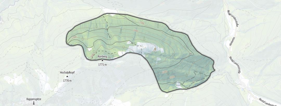 Karte / Ronbergalm