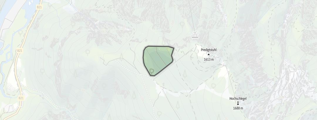 Karte / Predigtstuhl West