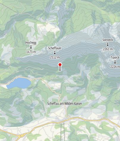 Karte / Steiner-Hochalm